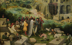 Bruegel, The Tower of Babel (detail)