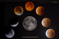 Lunar Eclipse 28 Sept 2015 (Phil-Greaves.) Tags: ireland red moon eclipse blood moonlight clonmel phases bloodred supermoon