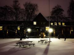 Sne ved Kabelgaten i Oslo (jonarnefoss2013) Tags: winter snow oslo norway vinter bjerke visitnorway kern oslobilder visitoslo stakkarsoss kabelgaten