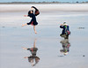 Bird and Birdcatcher (Journey CPL) Tags: travel reflection feet water girl beautiful trekking pose photography fly high jumping model asia pretty photographer flat dancing outdoor expression salt posing explore barefoot exciting chian flyinghigh saltflat watery qinghai chakasaltflat