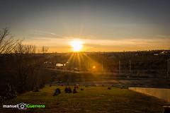 Juan Carlos I Park - Madrid (bethaql) Tags: madrid park parque sunset espaa ciudad puestadesol es colina tarde anochecer comunidaddemadrid 2016 juancarlosi atardeceder manuelguerrero nikond7100 enero2016