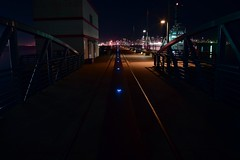 Pier at the Quay (scrompton94) Tags: night vancouver dark pier bc quay westcoast vancity lonsdale northvan beautifulbc