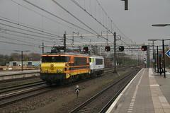 CT 1621 + RRF 4401, Woerden, 12 januari 2016 (verhaarthom) Tags: netherlands train rotterdam feeding nederland rail trein woerden spoorweg rrf ns1600 captrain