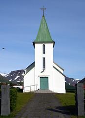 Suureyrarkirkja (vsig) Tags: vestfirir iceland island suureyri suureyrarkirkja kirkja church kirche islande