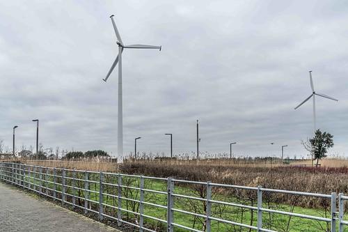 Wind Powered Public Park In Clongriffin Dublin [Father Collins Park]-110920