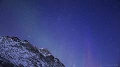 I watched C-beams glitter in the dark near the Tannhäuser Gate ... (lunaryuna) Tags: nightphotography winter sky mountain norway season landscape nightsky lunaryuna northernlights auroraborealis starrynight nocturnalphotography northernnorway starslikedust arcticregion nordlichter northerndreams seasonalwonders