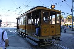 1896 Hammond Car Co. #578 (busdude) Tags: street car san francisco market railway company muni co streetcar hammond municipal sfmuni marketstreetrailway 1896 msry