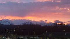 midwinter sunrise (nate'sgirl) Tags: pink mountains alaska sunrise purple anchorage chugach amanacer