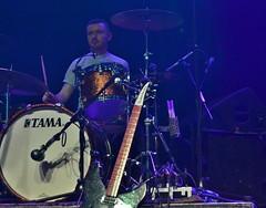 The Gas Panic - Drum (Duane Jones Cheshire1963) Tags: light music manchester jones woods keyboard drum bass guitar live gig january gas josh event papillon panic tama ritz crown strobe promotions duane the 2016