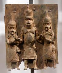 Benin plaque. British Museum (A J Hammond) Tags: benin britishmuseum plaques