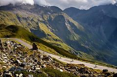Grossglockner (alxandru555) Tags: road sunset sun mountain alps color green bicycle landscape austria fuji alpine fujifilm grossglockner x100