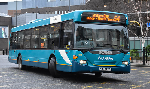 Arriva North East 4664 NK07FZG