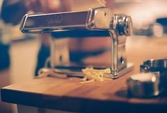 Pasta Roller (Rachael.Robinson) Tags: winter canada color film 35mm island pasta fresh fujifilm spaghetti maker campobello