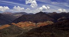 Vista desde el Pucar (Jennifer Feinbraun) Tags: naturaleza mountain color nature argentina colors canon montaa noa jujuy tilcara pucar 25faves