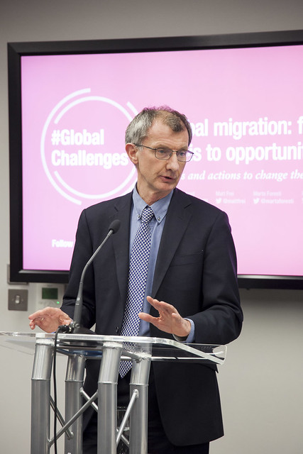 Kevin Watkins introduces ODI's event Global migration: from crisis to opportunity
