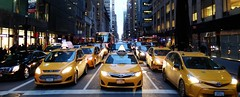 New York (Christian_from_Berlin) Tags: street new york city newyorkcity usa newyork cars unitedstates cab taxi autos newyorkatnight gothamcity usareise saariysqualitypictures