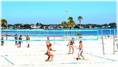 Northshore Park - St Petersburg, Florida (lagergrenjan) Tags: park beach st ball florida north petersburg shore volley