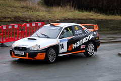 legend fire rally 2016 | impreza | 0U04 FHK (Jgalea14) Tags: orange white black window glass wheel canon fire mirror 14 rally round subaru physics legend impreza blackpool rotary fleetwood spoiler mudflap 2016 hankook