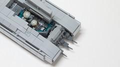Crew Compartment (John Moffatt) Tags: gun tank lego earth united tracks scifi maglev fi bang nations sci une railgun legotank
