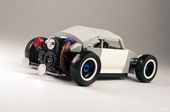 Salty Bug (_Tiler) Tags: car vw race volkswagen lego hotrod vehicle ratrod volksrod
