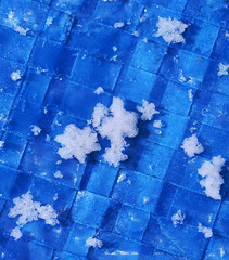 Snow (Matt Bigwood) Tags: blue white snow cold macro ice snowflakes nikon gloucestershire d800 105mm