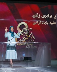 Maryam Rajavi at the International Womens Day, Pledge for Parity: Women United Against Islamic Fundamentalism, Paris, February 27, 2016 (maryamrajavi) Tags: paris iran ladefense human rights leader iranian gender maryam regime resistance equality opposition internationalwomensday        wemen mullahs  rajavi   radjavi mojahedin