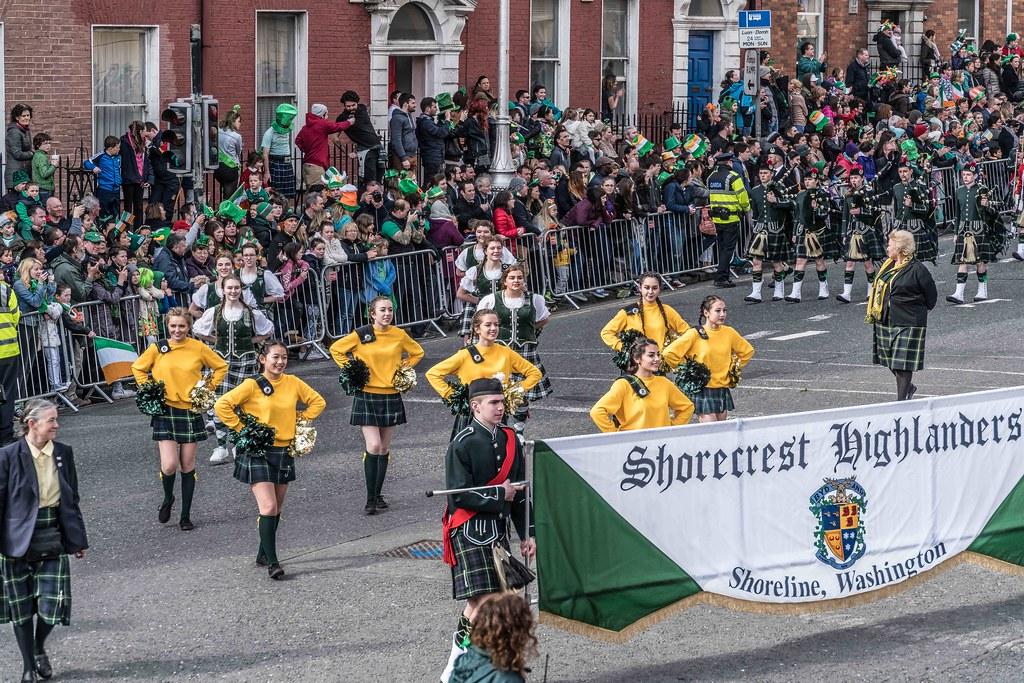 SHORECREST HIGH SCHOOL [ST. PATRICK'S PARADE IN DUBLIN 2016]-112257