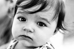 Gabi (viniciusmiquelim) Tags: portrait baby white black child retrato pb preto e bebe criana brando