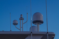Ship Antennas (Tony Webster) Tags: ca canada harbor boat ship novascotia harbour yacht maritime halifax radar halifaxharbour antennas radome sidescanningradar