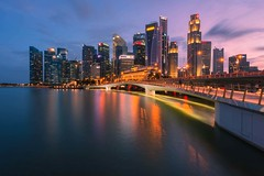 Jubilee Bridge (kenntcl) Tags: nikon singapore jubileebridge d810 1424mm