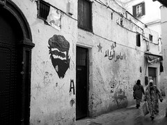 in Casablanca (simon_berlin62) Tags: life africa street travel bw art photography graffiti blackwhite northafrica morocco arab maroc maghreb medina casablanca rue marokko afrique  2016   nordafrika afriquedunord  strase