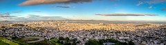 San Francisco City (Mit Desai) Tags: city panorama ariel evening san francisco view historical scape dense