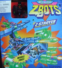 Z-Bots Series 4 Z-Stroyer (Z) (Z-Bots collector) Tags: toys robot space battle micro radical vehicle machines void voids zbot galoob zbots zstroyer