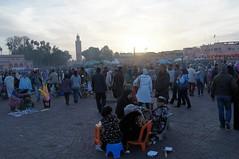 Marrakesh- Jemaa el-Fnaa (GregEightyFive) Tags: africa morocco afrika marrakesh marokko marrakesch moschee djemaaelfna jemaaelfnaa koutoubiamosque