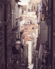 above her sleeping head (cherryspicks) Tags: street morning sleeping architecture buildings soft day perspective croatia roofs dreamy dubrovnik