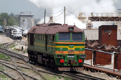 MK Illyich M62UP-0007, Mariupol, 2010/07/08. (lg-trains) Tags: trains ukraine trainspotting mariupol   m62up 62