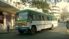 MSRTC Hirkani Sangli Pune Station (kunalas440) Tags: volvo scania shivneri msrtc punestation maharashtrastateroadtransportcorporation msrtcbusstand msrtctatabus msrtcashokleylandbus msrtcpushback msrtchirkani