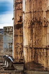 Rusted (Native5280) Tags: ranch canon farm rusty northdakota grasslands oilfield storagetank bakken bearsden 70d canonefs1855mmf3556is coloradonative