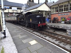 GWR 7800 Manor Class 4-6-0 (Milton00147) Tags: railroad gwr steamlocomotives manorclass llangollensteamgala