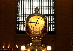 The Grand Central Terminal Clock (Rick & Bart) Tags: city nyc urban usa newyork clock canon manhattan bigapple grandcentralterminal rickbart rickvink eos70d thegrandcentralterminalclock