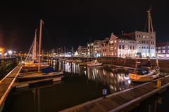 By Night Michiel de Ruyter Haven Vlissingen (frankwinkler1969) Tags: holland nacht sony zeeland fe nordsee vlissingen niederlande 163540