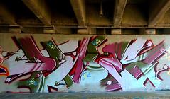graffiti amsterdam (wojofoto) Tags: graffiti streetart amsterdam wojofoto wolfgangjosten schellingwouderbrug dries nederland netherland holland