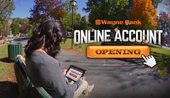 Online Account Opening Creative (Justin Roach Work Stuff) Tags: fall advertising design graphicdesign bank batman scranton nepa brucewayne honesdale 570 waynebank