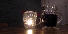The Light of his Life (innpictime  ) Tags: lighting cambridge beer bar design pub candle ale nightlight tabletop furnishings grainstore regentterrace lightoflife lightale brickdecor dimplemugs