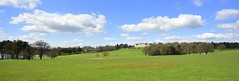 harewood house panorama (haywardk49) Tags: uk trees england sky people panorama gardens clouds garden landscape raw nef yorkshire hill leeds lawn wideangle d750 jpg fullframe slope waterscape harewwodhouse