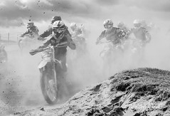 Desert storm? (Alan Cruickshank.) Tags: mono scotland nikon motorbike motorcycle motocross mx scottishhighlands tain rossshire nikon70200f28 nikond750
