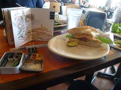 51st WW Sketch Crawl DAy Lunch (MicheleC2) Tags: seattle flower coffee cafe market salmon pikeplacemarket usk turkish soundviewcafe urbansketchers seattleurbansketchers uskseattle wwsketchcrawl51