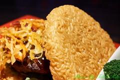 Red Ramen Burger (Tohru ) Tags: food redribbon burger sony ramen burgers redrobin ramenburger a6300