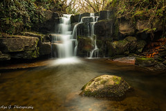 waterfall at Gleniff Horseshoe Valley (Aga G. Photography) Tags: park ireland nature water colors beauty stone river outdoors waterfall long exposure sigma valley horseshoe 24mm sligo gleniff canon5dmark3