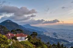 Bogota climbing the mountains. #theworldwalk #travel #colombia #bogota